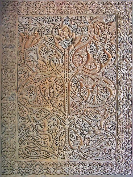 El rbol de la vida de la piedra al cuero - Medina azahara decoracion ...